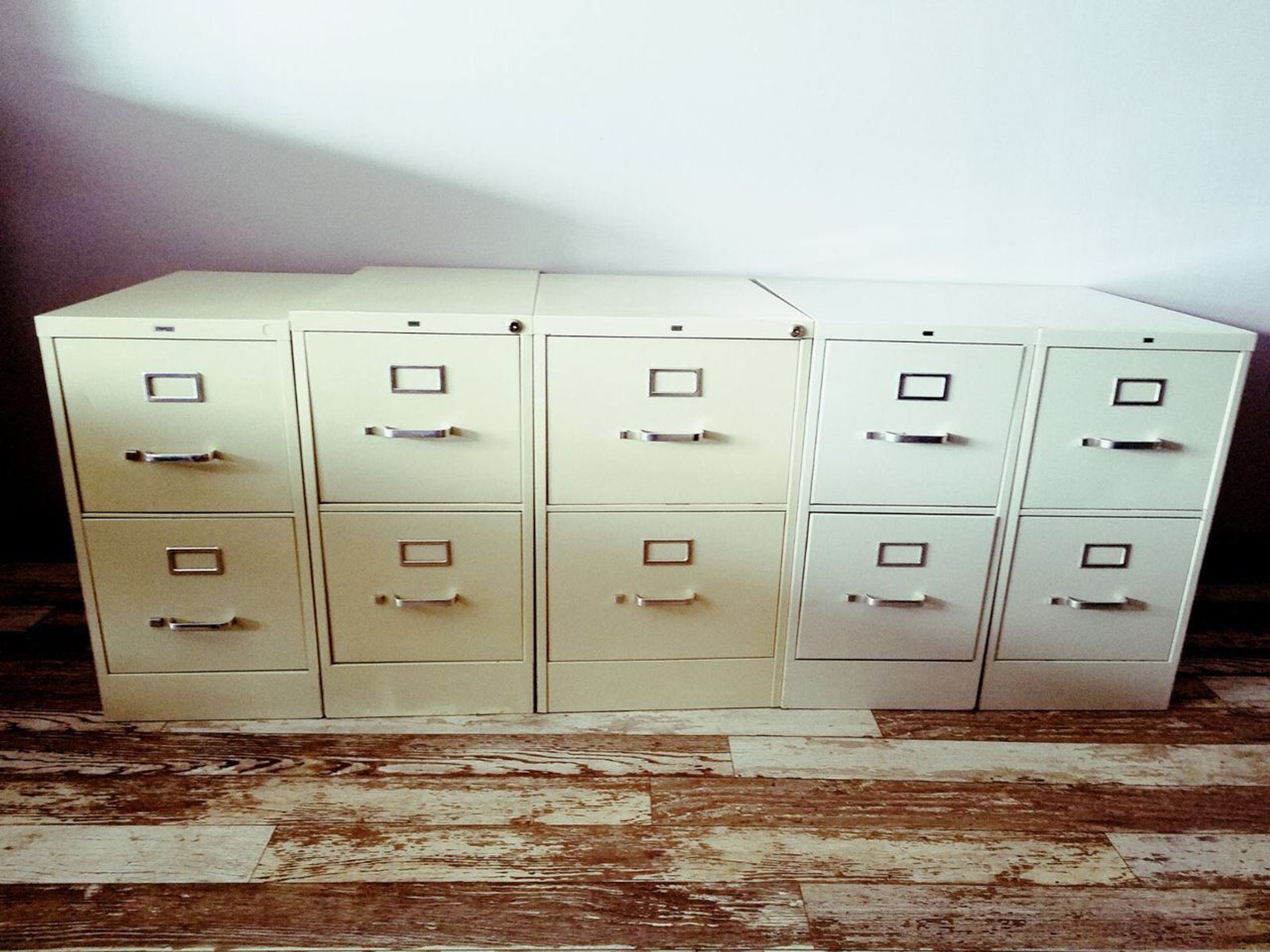 Image of: Hon Two Drawer Vertical File Cabinet Affordable Business Depot