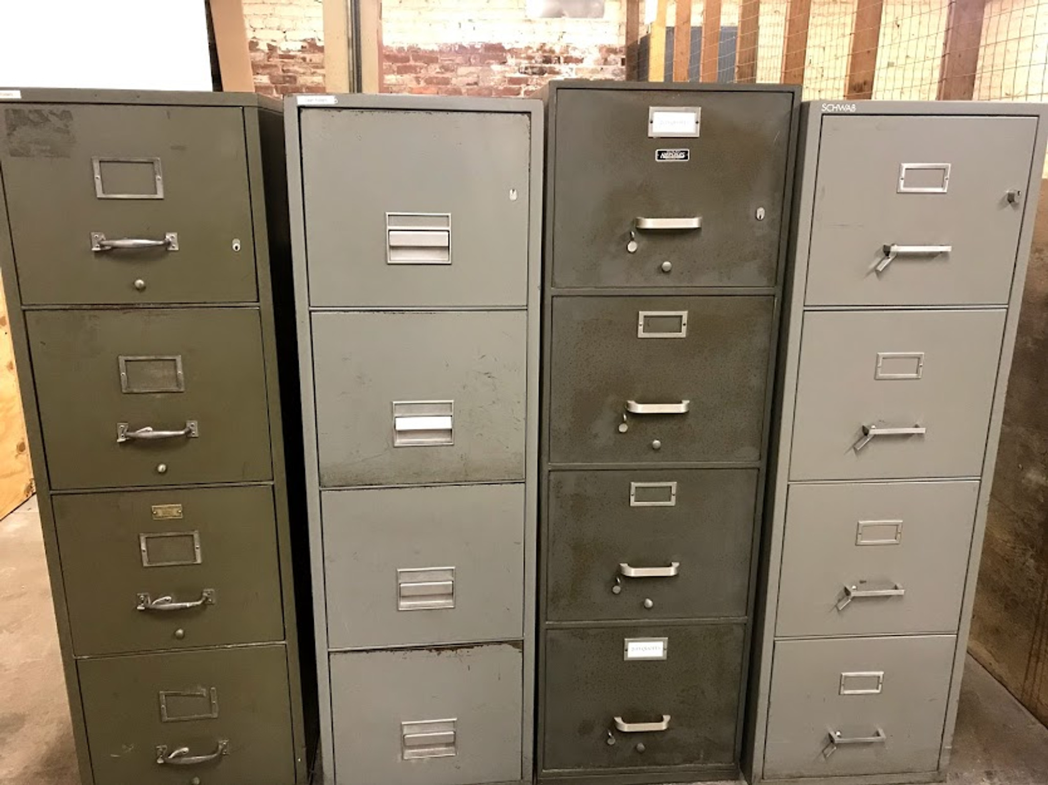 Dated Vertical Fireproof File Cabinet Letter Size