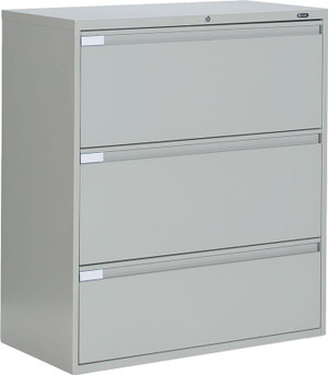 Hon Three Drawer Lateral File Cabinet