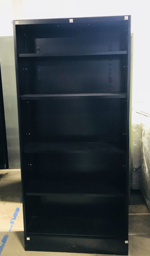 HON Brigade 6-Shelf Metal Bookcase