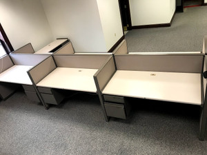 Steelcase Telemarketing Cubicle Partitions