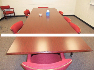 Mahogany 12' Conference Table