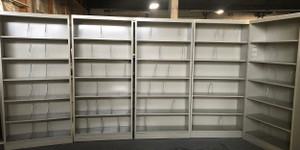 Hon Six Shelf Open Shelving