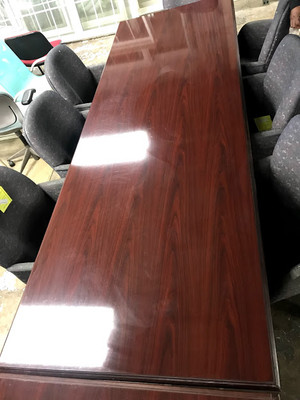 Mahogany 10' Conference Table