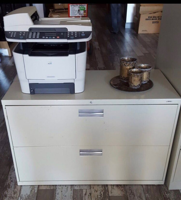 Hon Two Drawer Lateral File Cabinet