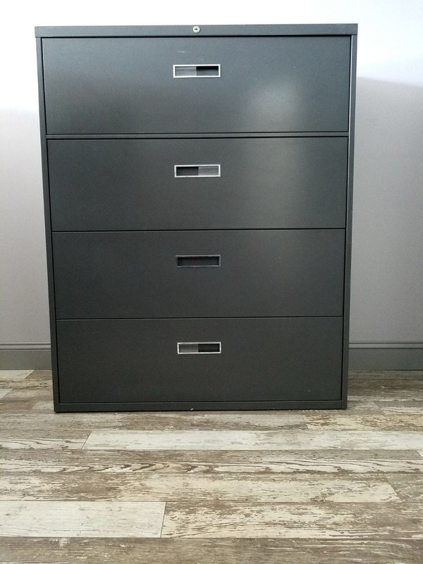 Hon Four Drawer Lateral File Cabinet