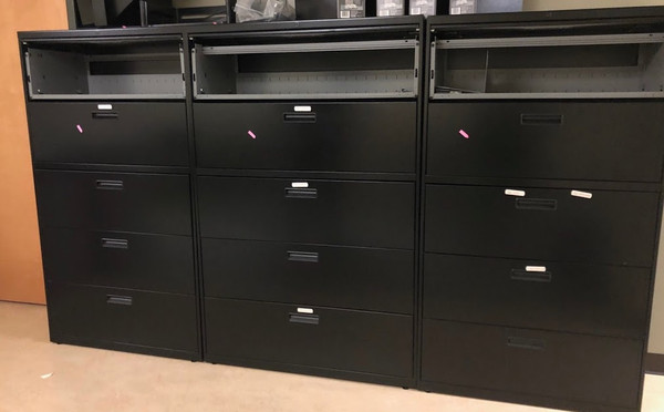 Five Drawer Lateral File Cabinet Affordable Business Depot