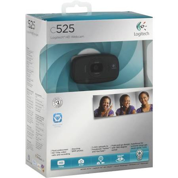 48ab811fbb5 Logitech HD C525 Webcam - USB 2.0 - Affordable Business Depot