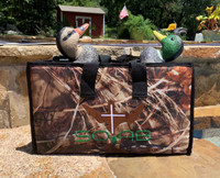 "FIRST realistic natural all 4 motions duck decoy system; swims, feeds, dives, makes ripples with NO restrictions or limitations. The new standard for duck hunting and natural movement has been set. No more Shy ducks just ""Doing What Ducks Do"""