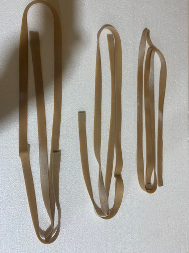 """3/4"""" x 72"""" Rubber Band for Automatic Jerk String Duck Decoy System"""