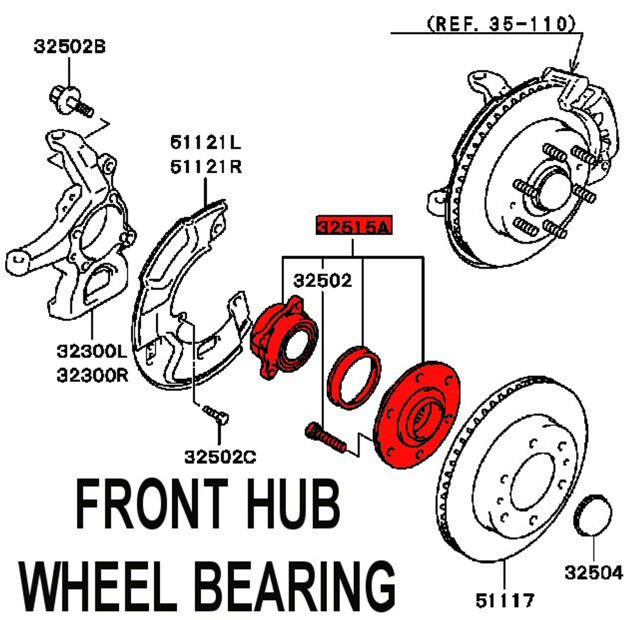 Wheel Bearing Hub Assembly Diagram Car Tuning