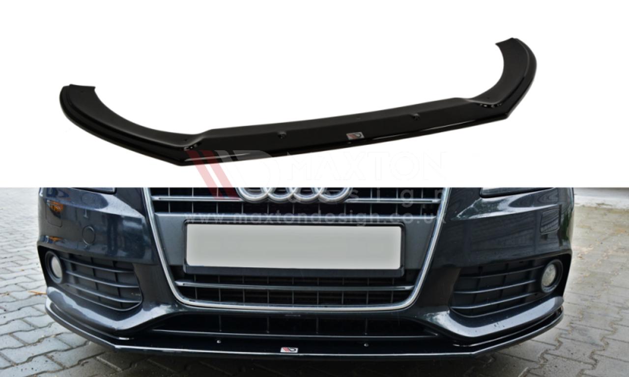 Maxton Designs Front Splitter Audi A4 B8 Preface V2 Indigo Gt