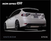Blitz Nur Spec DT 07+ Impreza S-GT