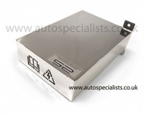 AS ST Polished Finish - Full ECU cover for cold feed Air filter kits.