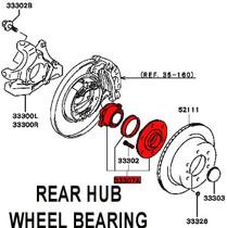 Evo 5-9 Rear Wheel Bearing