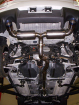 C-TEC Evo X Cat Back Exhaust S-Ti