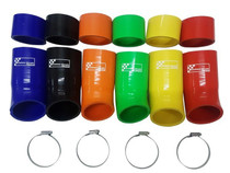 Ford Focus RS Mk3 Air Induction Silicone Hoses With Stainless Steel Clips