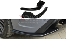 Maxton Designs REAR SIDE SPLITTERS FORD FOCUS 3 RS