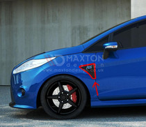 Maxton Designs SIDE VENTS IMITATIONS FORD FIESTA MK7 RS LOOK