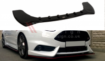 Maxton Designs FRONT SPLITTER FIESTA MK7 ST FACELIFT 2013-UP (FIT MAXTON FRONT BUMPER)