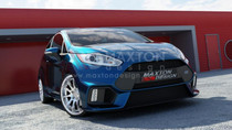 Maxton Designs FRONT BUMPER FIESTA MK7 FACELIFT (FOCUS RS 2015 LOOK)