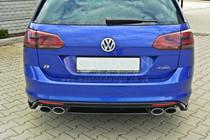 Maxton Designs CENTRAL REAR SPLITTER VW GOLF MK7 R ESTATE (WITHOUT A VERTICAL BAR)