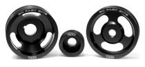 GFB 3-Piece Underdrive Pulley Kit(Crank, Alternator & Power steering pulleys & Belts WRX/STI 1994-98