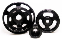GFB 3-Piece Underdrive Pulley Kit(Crank, Alternator and Power Steering pulleys & Required Belt) WRX/STI 2008-14