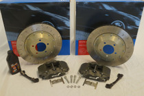 Alcon: 343mm Race: Rear Brake Kit: Evo IV - IX
