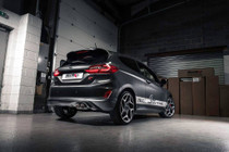 Milltek Fiesta ST Mk8 Cat Back Exhaust With Carbon Jet-90 Trims