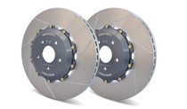 Girodisc Ford Focus RS MK3 2 Piece Grooved Disc Set Front