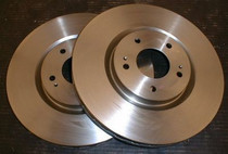 Mitsubishi Evo 5-9 Front Std Replacement Front Brake Discs