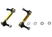 Whiteline Rear Sway bar - link assembly heavy duty adj steel bal 1