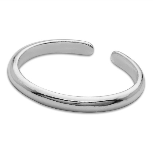 Sterling Silver High Polished Thin Toe Ring
