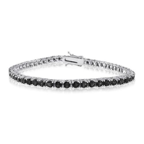 Black CZ Tennis Bracelet