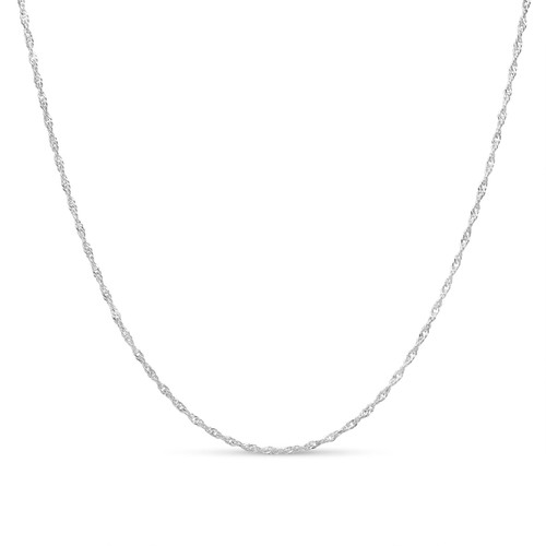 Sterling Silver 2mm Singapore Chain
