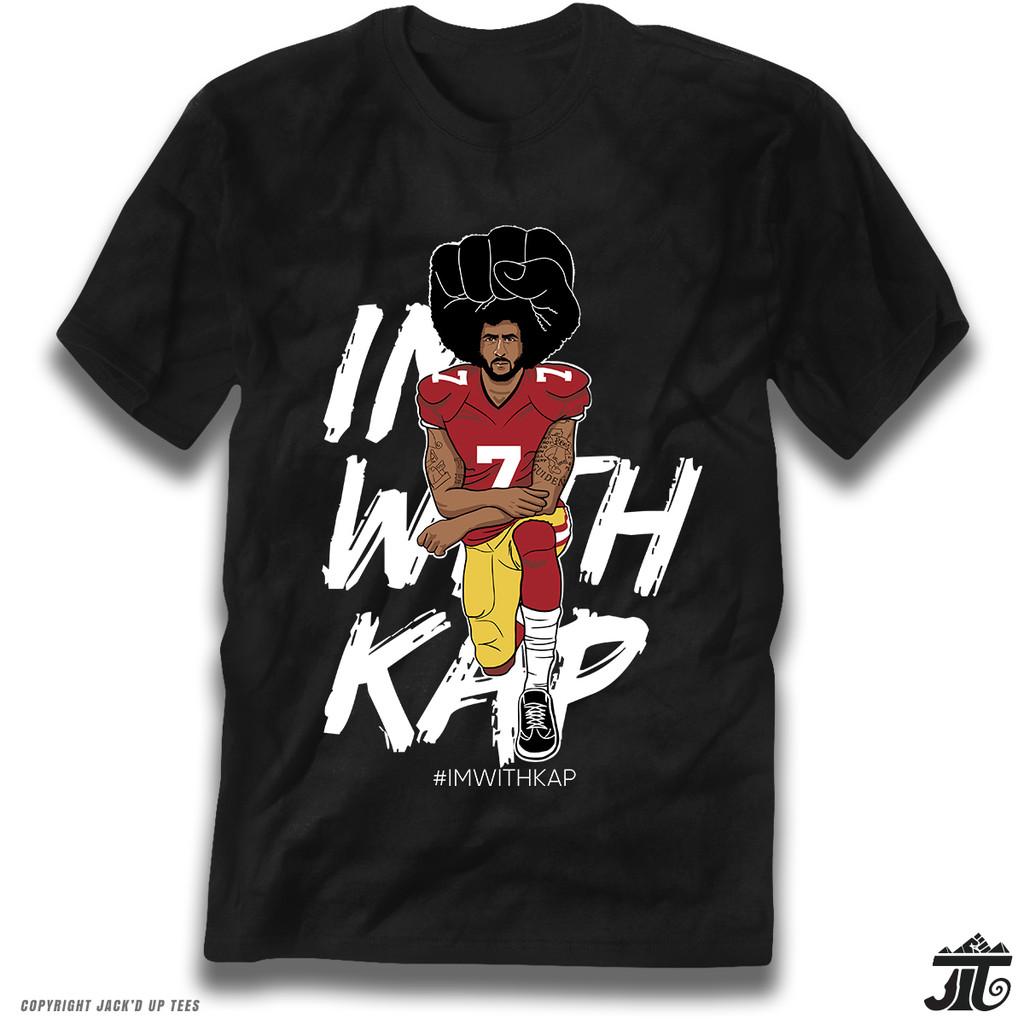 IMWITHKAP Colin Kaepernick Kneeling Premium T-Shirt