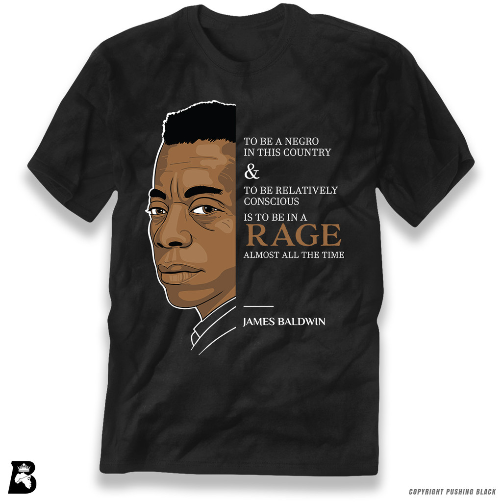 'The Legacy Collection - Baldwin - To Be In a Rage' Premium Unisex T-Shirt
