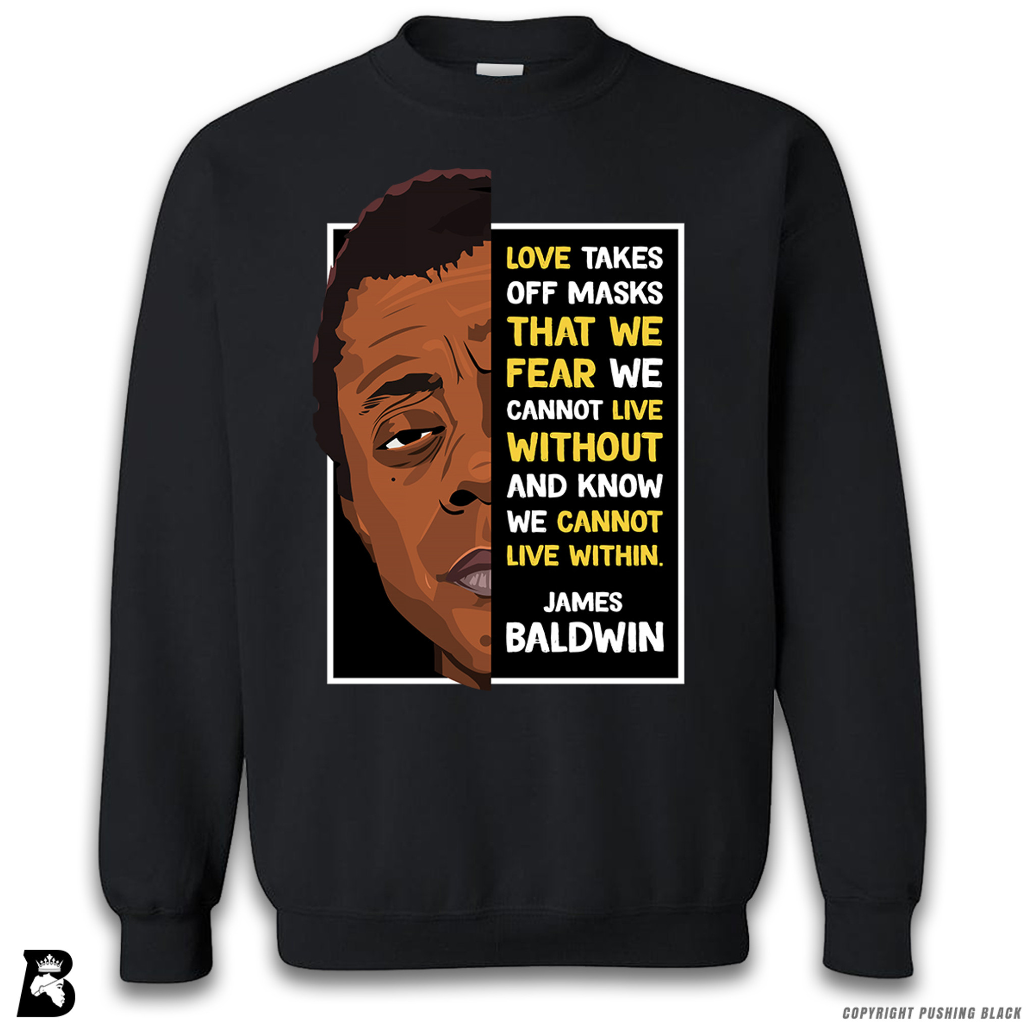 Love Premium Unisex T-Shirt The Legacy Collection James Baldwin