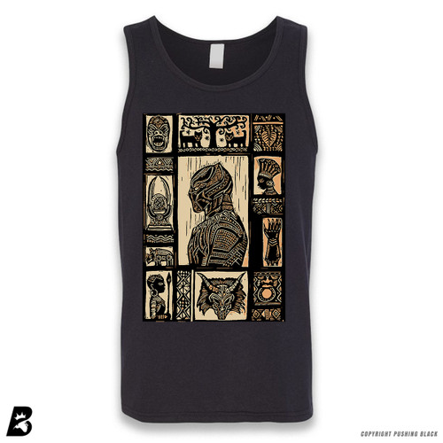 'The Story of the Black Panther' Sleeveless Unisex Tank Top