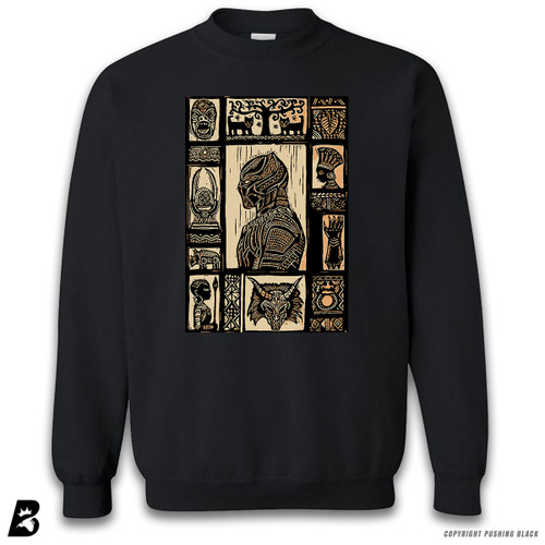 'The Story of the Black Panther' Premium Unisex Sweatshirt