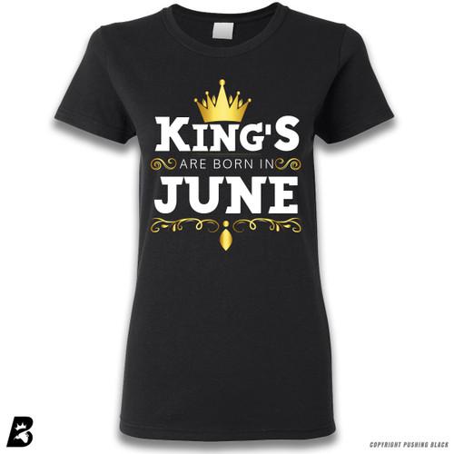 'King's Are Born In June' Premium Unisex T-Shirt
