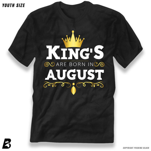 'King's Are Born In August' Premium Youth T-Shirt