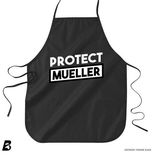 'Protect Mueller' Premium Canvas Kitchen Apron