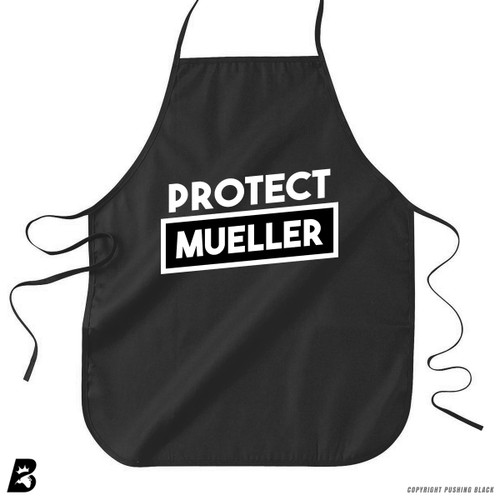 'Protect Bob Mueller' Premium Canvas Kitchen Apron