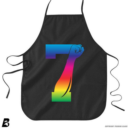 '7 Fist Up - Rainbow' Premium Canvas Kitchen Apron