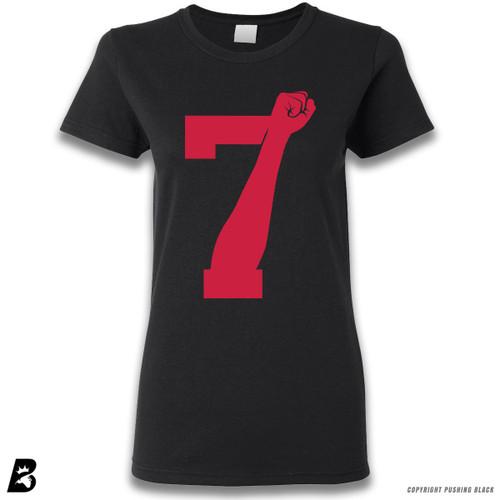 '7 Fist Up High - Scarlet' Premium Unisex T-Shirt