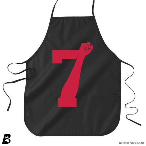 '7 Fist Up High - Scarlet' Premium Canvas Kitchen Apron