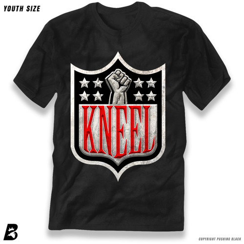 'Kneel with Kap Shield' Premium Youth T-Shirt