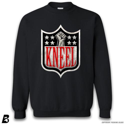 'Kneel with Kap Shield' Premium Unisex Sweatshirt